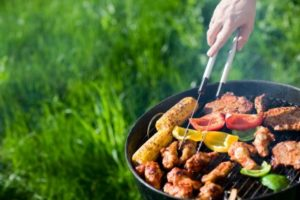 Grilling outside is a fun way to cook food without warming up your house.